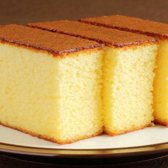 Medeira Cake Slices